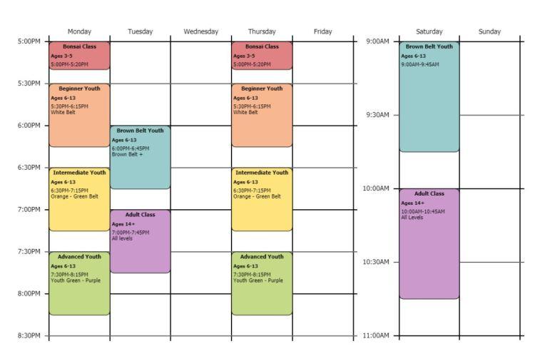 june - july 2021 schedule